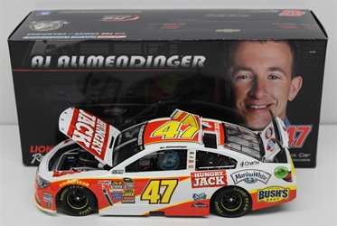 AJ Allmendinger 2014 Hungry Jack 1:24 Nascar Diecast 2014 nascar diecast, AJ Allmendinger diecast, AJ Allmendinger diecast, lionel nascar collectabeles, preorder diecast