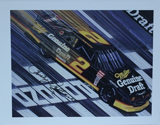 "Autographed Rusty Wallace ""Pocono Draft "" Original Numbered Sam Bass Print 18 X 23.5 w/ COA Autographed Rusty Wallace ""Pocono Draft "" Original Numbered Sam Bass Print 23.5 X 18 w/ COA"