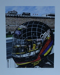 "Autographed Rusty Wallace "" Quick Thoughts "" Original Artist Proof Sam Bass Print 25"" X 21"" w/ COA Autographed Rusty Wallace "" Quick Thoughts "" Original Artist Proof Sam Bass Print 25"" X 21"" w/ COA"