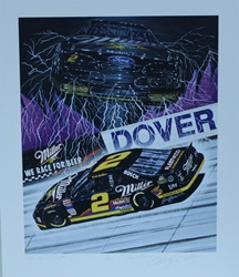 "Autographed Rusty Wallace "" Thunder And Lighting "" Original Numbered Sam Bass Print 21"" X 25"" w/ COA Autographed Rusty Wallace "" Thunder And Lighting "" Original Numbered Sam Bass Print 21"" X 25"" w/ COA"