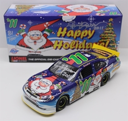 Autographed Sam Bass 2011 Numbered Christmas Holiday 1:24 Nascar Diecast Sam Bass nascar diecast, diecast collectibles, nascar collectibles, nascar apparel, diecast cars, die-cast, racing collectibles, nascar die cast, lionel nascar, lionel diecast, action diecast, university of racing diecast, nhra diecast, nhra die cast, racing collectibles, historical diecast, nascar hat, nascar jacket, nascar shirt