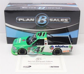 Ben Rhodes Autographed 2018 Alpha Energy Solutions 1:24 Nascar Diecast Ben Rhodes diecast, 2018 nascar diecast, pre order diecast