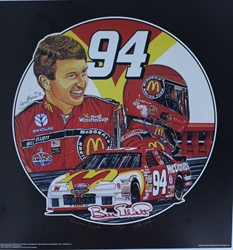 "Bill Elliott 1996  ""Winners Circle"" Artist Proof Sam Bass 25""X 24"" Print w/ COA Sam Bass, Bill Elliott, Thunderbat, Monster Energy Cup Series, Winston Cup, Print, Bill Elliott 1996  ""Winners Circle"" Artist Proof Sam Bass 25""X 24"" Print w/ COA"