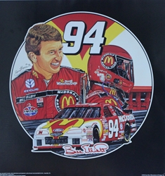 "Bill Elliott 1996 ""Winners Circle"" Sam Bass 25""X 24"" Poster 25"" X 24"" Sam Bass, Bill Elliott, Thunderbat, Monster Energy Cup Series, Winston Cup, Print, Bill Elliott 1996 ""Winners Circle"" Sam Bass 25""X 24"" Poster 25"" X 24"""