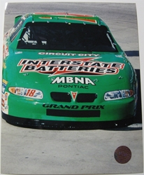 Bobby Labonte #18 Interstate Batteries 8 X 10 Photo #02 Bobby Labonte #18 Interstate Batteries 8 X 10 Photo