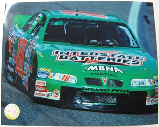 Bobby Labonte #18 Interstate Batteries 8 X 10 Photo #06 Bobby Labonte #18 Interstate Batteries 8 X 10 Photo
