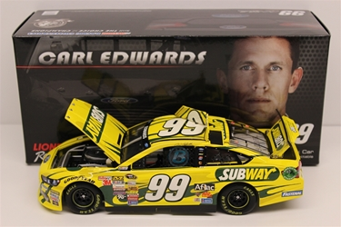 Carl Edwards 2014 Subway 1:24 Nascar Diecast Carl Edwards nascar diecast, diecast collectibles, nascar collectibles, nascar apparel, diecast cars, die-cast, racing collectibles, nascar die cast, lionel nascar, lionel diecast, action diecast, university of racing diecast, nhra diecast, nhra die cast, racing collectibles, historical diecast, nascar hat, nascar jacket, nascar shirt