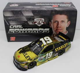 Carl Edwards 2016 Stanley 1:24 Color Chrome Nascar Diecast Carl Edwards diecast, 2016 nascar diecast, pre order diecast