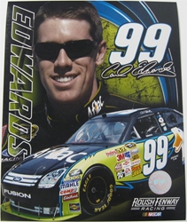 Carl Edwards #99 Aflac 8 X 10 Photo #05 Carl Edwards #99 Aflac 8 X 10 Photo