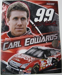 Carl Edwards #99 Office Depot 8 X 10 Photo #02 Carl Edwards #99 Office Depot 8 X 10 Photo