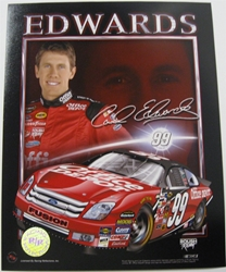 Carl Edwards #99 Office Depot 8 X 10 Photo #04 Carl Edwards #99 Office Depot 8 X 10 Photo