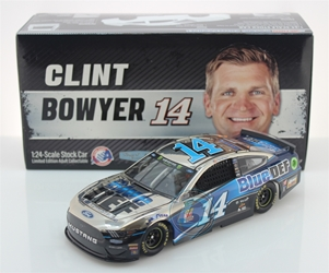 Clint Bowyer 2019 BlueDEF 1:24 Color Chrome Nascar Diecast Clint Bowyer Nascar Diecast,2019 Nascar Diecast,1:24 Scale Diecast, pre order diecast