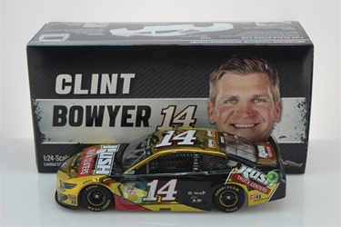 Clint Bowyer 2019 Rush Truck Centers 1:24 Color Chrome Nascar Diecast Clint Bowyer Nascar Diecast,2019 Nascar Diecast,1:24 Scale Diecast, pre order diecast,Rush Truck Centers