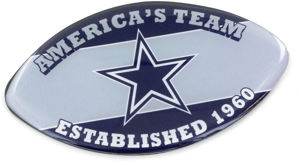 DALLAS COWBOYS SLOGAN FOOTBALL MAGNET nfl, magnet, lanyard, licensed, keychain