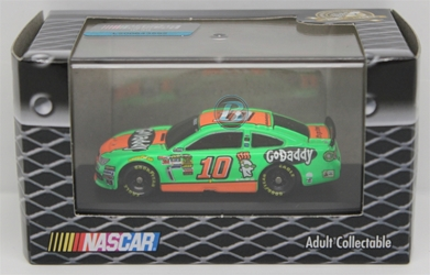 Danica Patrick 2014 GoDaddy 1:87 Jewel Case Nascar Diecast 2014 nascar diecast, danica patrick diecast, tony stewart, danica patrick jewel case diecast, lionel nascar collectabeles, preorder diecast