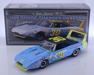 Dave Marcis Autographed #30 Winter Park Dodge 1969 Dodge Daytona 1:24 University of Racing Nascar Diecast Dave Marcis nascar diecast, diecast collectibles, nascar collectibles, nascar apparel, diecast cars, die-cast, racing collectibles, nascar die cast, lionel nascar, lionel diecast, action diecast, university of racing diecast, nhra diecast, nhra die cast, racing collectibles, historical diecast, nascar hat, nascar jacket, nascar shirt,historical racing die cast