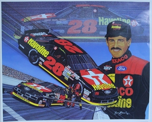 "Davey Allison 1992  ""The Energy To Go Forth"" Original Sam Bass Poster 19"" X 24"" Sam Bass, Davey Allison, Monster Energy Cup Series, Winston Cup, Poster, Davey Allison 1992  ""The Energy To Go Forth"" Original Sam Bass Poster 19"" X 24"""