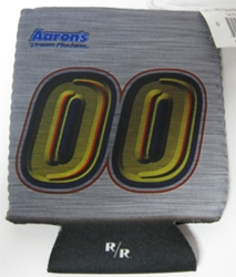 David Reutimann #00 Aarons Can Cooler Hugger David Reutimann #00 Aarons Can Cooler Hugger