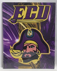 "East Carolina University Canvas 11"" x 14"" Wall Hanging collectible canvas, ncaa licensed, officially licensed, collegiate collectible, university of"