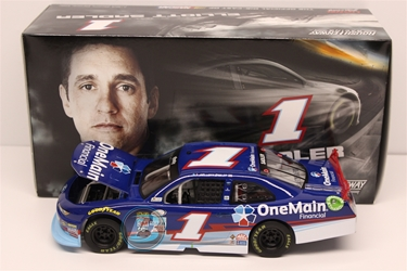 Elliott Sadler 2015 One Main Financial 1:24 Nascar Diecast Elliott Sadler diecast, 2015 nascar diecast, pre order diecast, One Main Financial diecast