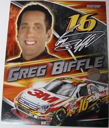 Greg Biffle #16 3M 8 X 10 Photo #02 Greg Biffle #16 3M 8 X 10 Photo