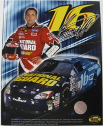 Greg Biffle #16 National Guard 8 X 10 Photo #05 Greg Biffle #16 National Guard 8 X 10 Photo