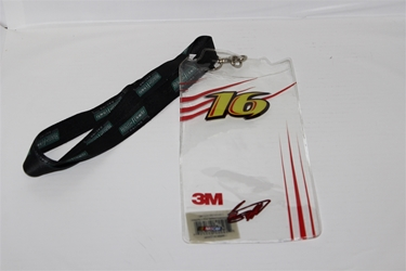 Greg Biffle #16 Roush Fenway Racing Credential Holder and Lanyard Greg Biffle nascar diecast, diecast collectibles, nascar collectibles, nascar apparel, diecast cars, die-cast, racing collectibles, nascar die cast, lionel nascar, lionel diecast, action diecast, university of racing diecast, nhra diecast, nhra die cast, racing collectibles, historical diecast, nascar hat, nascar jacket, nascar shirt, R and R