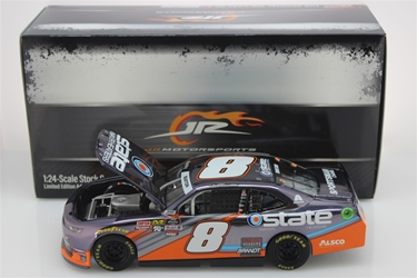 Jeb Burton 2019 State Water Heaters 1:24 Color Chrome Nascar Diecast Jeb Burton Nascar Diecast,2019 Nascar Diecast,1:24 Scale Diecast, pre order diecast