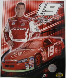 Jeremy Mayfield #19 Dodge 8 X 10 Photo #01 Jeremy Mayfield #19 Dodge 8 X 10 Photo