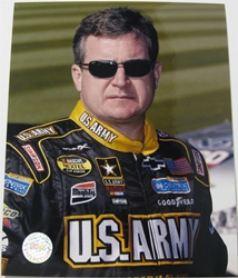 Joe Nemechek #01 Army 8 X 10 Photo #05 Joe Nemechek #01 Army 8 X 10 Photo