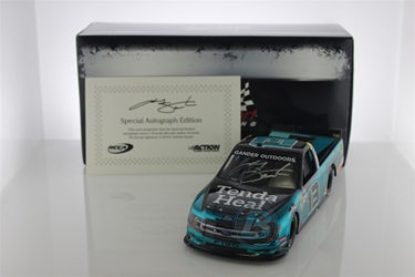 Johnny Sauter Autographed 2019 Tenda Heal 1:24 Color Chrome Nascar Diecast Johnny Sauter diecast, 2019 nascar diecast, pre order diecast