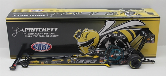 Leah Pritchett 2018 Angry Bee 1320 1:24 Top Fuel Dragster NHRA Diecast Leah Pritchett nascar diecast, diecast collectibles, nascar collectibles, nascar apparel, diecast cars, die-cast, racing collectibles, nascar die cast, lionel nascar, lionel diecast, action diecast, university of racing diecast, nhra diecast, nhra die cast, racing collectibles, historical diecast, nascar hat, nascar jacket, nascar shirt