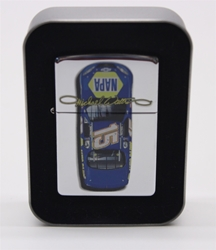 Michael Waltrip #15 Top Car View Zippo Lighter NASCAR, DIECAST, TRINKET, GLASSWARE, STICKER, RC, DALE, EARNHARDT, JEFF GORDON, MICHAEL WALTRIP, GORDON, DISCOUNT, CLEARANCE, HENDRICKS,