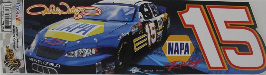 Michael Waltrip #21 NAPA Bumper Sticker 3 x 10.50 nascar diecast, diecast collectibles, nascar collectibles, nascar apparel, diecast cars, die-cast, racing collectibles, nascar die cast, lionel nascar, lionel diecast, action diecast, university of racing diecast, nhra diecast, nhra die cast, racing collectibles, historical diecast, nascar hat, nascar jacket, nascar shirt