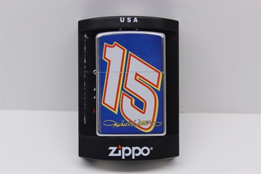 Michael Waltrip BIG #15 Zippo Lighter NASCAR, DIECAST, TRINKET, GLASSWARE, STICKER, RC, DALE, EARNHARDT, JEFF GORDON, GORDON, DISCOUNT, CLEARANCE, HENDRICKS,MICHAEL WALTRIP