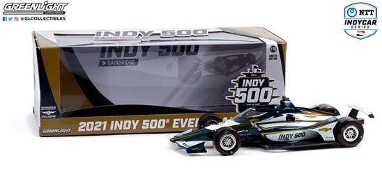 105th Running of the Indianapolis 500 Event Car 1:18 2021 NTT IndyCar Series 105th Indy 500 Event Car, 2021, 1:18, diecast, greenlight, indy
