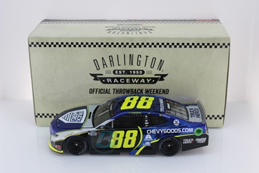 *Preorder* Alex Bowman 2020 Chevy Goods Darlington Throwback 1:24 Color Chrome Nascar Diecast Alex Bowman Nascar Diecast,2020 Nascar Diecast,1:24 Scale Diecast, pre order diecast