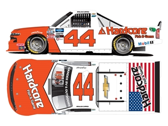 *Preorder* Bayley Currey Autographed 2020 Hardcore Fish & Game Darlington Throwback 1:24 Nascar Diecast Bayley Currey diecast, 2020 nascar diecast, pre order diecast