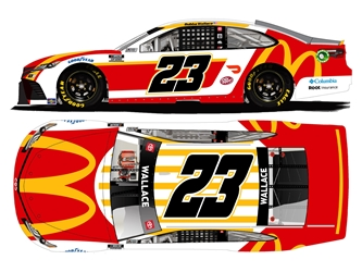 *Preorder* Bubba Wallace Autographed 2021 McDonalds 1:24 Nascar Diecast Bubba Wallace, Nascar Diecast,2021 Nascar Diecast,1:24 Scale Diecast, pre order diecast