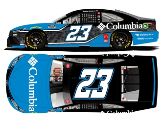 *Preorder* Bubba Wallace Autographed 2021 Columbia 1:24 Nascar Diecast Bubba Wallace, Nascar Diecast,2021 Nascar Diecast,1:24 Scale Diecast, pre order diecast