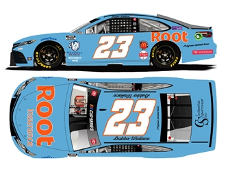 *Preorder* Bubba Wallace Autographed 2021 Root Insurance Darlington Throwback 1:24 Nascar Diecast Bubba Wallace, Nascar Diecast,2021 Nascar Diecast,1:24 Scale Diecast, pre order diecast