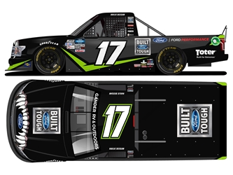 *Preorder* Hailie Deegan 2020 Ford / Toter 1:24 Color Chrome Nascar Diecast Hailie Deegan Nascar Diecast,2020 Nascar Diecast,1:24 Scale Diecast,pre order diecast
