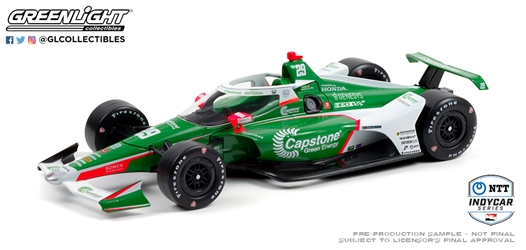 *Preorder* James Hinchcliffe / Andretti Steinbrenner Autosport #29 Capstone Green Energy 1:18 2021 NTT IndyCar Series James Hinchcliffe, 2021, 1:18, diecast, greenlight, indy