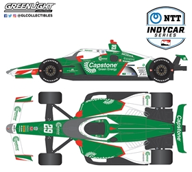 *Preorder* James Hinchcliffe / Andretti Steinbrenner Autosport #29 Capstone Green Energy 1:64 2021 NTT IndyCar Series James Hinchcliffe,1:64,diecast,greenlight,indy