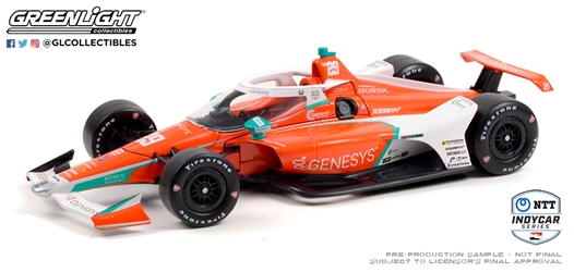 *Preorder* James Hinchcliffe / Andretti Steinbrenner Autosport #29 Genesys 1:18 2021 NTT IndyCar Series James Hinchcliffe, 2021, 1:18, diecast, greenlight, indy