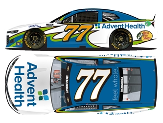 *Preorder* Jamie McMurray Autographed 2021 AdventHealth 1:24 Nascar Diecast Jamie McMurray Nascar Diecast,2021 Nascar Diecast,1:24 Scale Diecast, pre order diecast