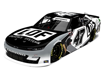 *Preorder* Kyle Weatherman 2021 LOF Defense Systems 1:24 Color Chrome Nascar Diecast Kyle Weatherman, Nascar Diecast,2021 Nascar Diecast,1:24 Scale Diecast, pre order diecast