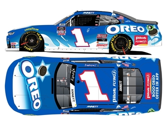 *Preorder* Michael Annett / Dale Jr Dual Autographed 2020 Oreo Darlington Throwback 1:24 Nascar Diecast Michael Annett, Nascar Diecast,2020 Nascar Diecast,1:24 Scale Diecast, pre order diecast