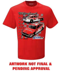 *Preorder* Michael McDowell 2021 Fr8Auctions Darlington Throwback 1-Spot Graphic Tee Michael McDowell, shirt, nascar