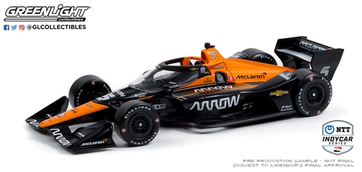 *Preorder* Pato OWard / Arrow McLaren SP #5 Arrow 1:18 2021 NTT IndyCar Series Pato O Ward, 2021, 1:18, diecast, greenlight, indy